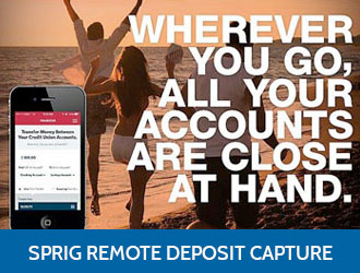 Sprig Remote Deposit Capture